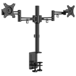 Desktop Dual Monitor Arm Mount KRON D222E