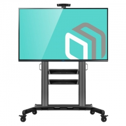 Mobile stand for TV with two shelves ONKRON TS2811