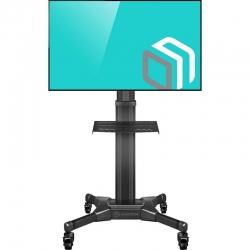 Мобильная стойка для телевизора ONKRON TS2551 чёрная